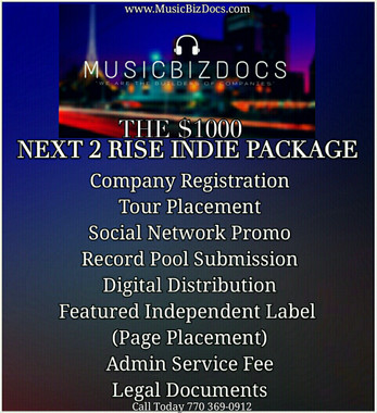 Record Pool Upload $100 per entry  INCLUDES SPINSTATZ Social Network Promo $100 per week The Company Start Up Package $150 Artist Web Page / EPK $250 Copyright Starting at $125  LLC Registration $150 Performing Rights Organization Registration (BMI, ASCAP, etc.) $200 or $300 Digital Distribution $200 annual Admin Service Fee $50  BDS Encoding $50