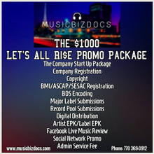 SMK Ent. The Lets All Ri$e Promo Package