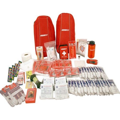 Survivor Emergency Bug Out Bag - 4 Person | Emergency Zone