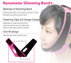 Mask House Diamond V-Fit Nanometer Slimming Band (1 piece)