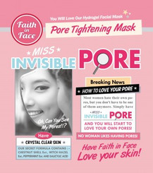 Faith in Face - Miss Invisible Pore Hydrogel Mask (3 pieces)