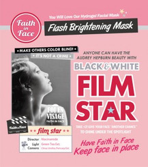 Faith in Face - Black and White Film Star (3 pieces)