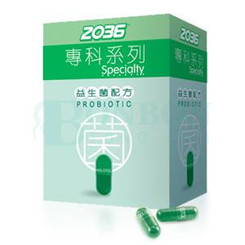 2036 Specialty Probiotic 52 capsule/bottle