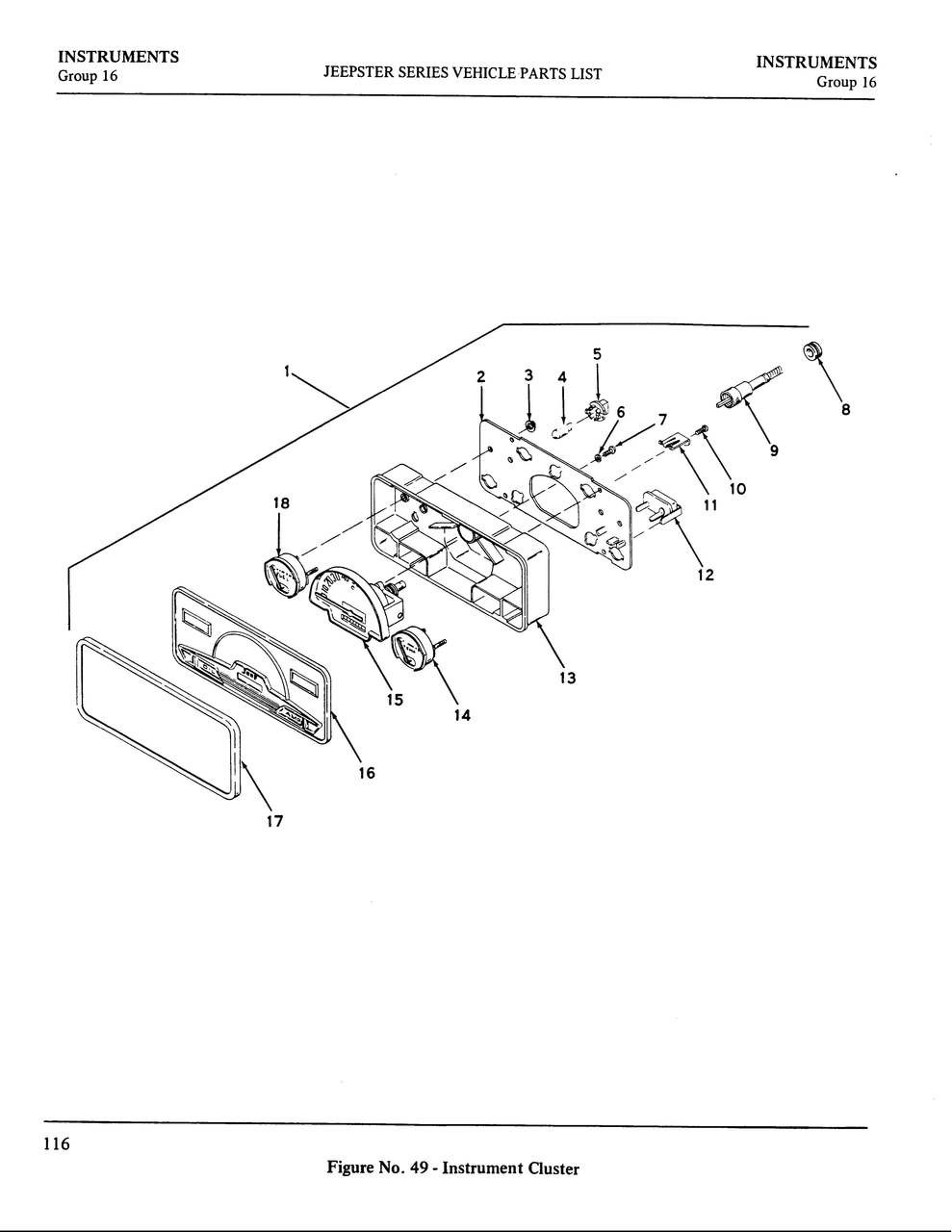 Circuit Board Partsdude4x4 Gauge Cluster Cb1 Larger More Photos