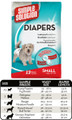 Simple Solution Disposable Diapers (Small, 12 pack)