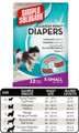 Simple Solution Fashion Disposable Diapers (X-Small)
