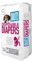 OUT! Fashion Disposable Diapers Medium - 14 Pack