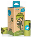 Waste Pickup Poop Bags UNSCENTED - 5760 Bags (48 boxes with 8 rolls per box) SHIPS FREE