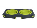 Adjustable Pet Feeder - Large Neon Green