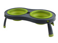 Collapsible Pet Feeder - Small Neon Green