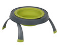 Single Elevated Pet Bowl - Small Neon Green