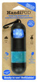 HandiPOD Dispenser with Hand Sanitiser - Black & Blue
