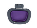Collapsible Kennel Bowl - Purple