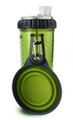 Snack-DuO Bottle with Companion Cup - Neon Green