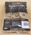 "Bulk rubber bands Size #32 (3"" x 1/8"") - 1 pounds bag - approx 700 rubber bands"