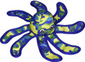 Sea Warrior Octopus Durable Plush Soft Squeak Interactive Dog Chew Toy 14""