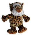 "Medium Plush Dog Toy - Leopard - 8"" Tall"