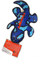 16?Ç¥ Medium Blue Gecko Plush Dog Toy ?Çô Tough Stitched ?Çô Durable Construction