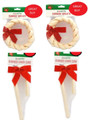 Premium Rawhide 4 Pack Special , 2 Canes & 2 Wreaths