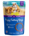N-Bone Puppy Teething Ring Pumpkin Flavor - 6 Ring Pack