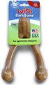 Pet Qwerks Wish BarkBone - Bacon Flavor - For Aggressive Chewers| Made in USA