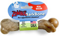 Pet Qwerks Zombie Nylon BarkBone - Bacon Flavor - For Extreme Chewers