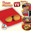 Potato Express, Microwave Baked Potato Cooker Bag