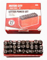 27-Pc. Letter Stamp Set - 1/4""