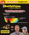 """Battle Vision"", HD Polarized Sunglasses - 2 Pack"