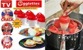 Egglettes, 6-pack Silicone Egg Cooking Shells