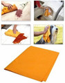 "3-Pack, Super-Absorbant Orange Chamois (20""X27"")"