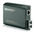 Signa Max 065-1195 1000BaseT to 1000BaseSX SC fiber Media Converter 50/125 micron