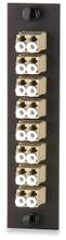 SignaMax Optical Fiber Adapter Plates LC MM 50mic (6Duplex) (UFE-B-06LC)
