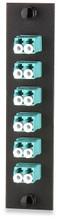 SignaMax Optical Fiber Adapter Plates LC MM 10 GIG 6Duplex (UFE-B06LC-G) Agua