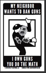 I Own Guns Magnet