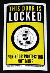 LOCKED FOR YOUR PROTECTION