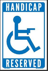 HANDICAP RESERVED