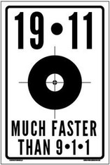 19-11. . .MUCH FASTER THAN 9-1-1