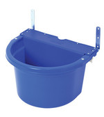 20 QUART FENCE FEEDER BLUE