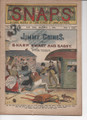 SNAPS COMIC WEEKLY #61 A SCARCE FRANK TOUSEY DIME NOVEL STORY PAPER