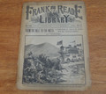FRANK READE LIBRARY 107 FRANK TOUSEY SCI FI DIME NOVEL LUIS P SENARENS NO NAME