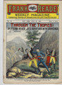 FRANK READE WEEKLY 87 FRANK TOUSEY DIME NOVEL STORY PAPER
