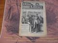 1887 BEADLE'S NEW YORK DIME LIBRARY #430 FOLDER DIME NOVEL STORY PAPER
