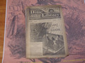 1886 BEADLE'S NEW YORK DIME LIBRARY #377 DIME NOVEL STORY PAPER