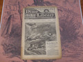 1890 BEADLE'S NEW YORK DIME LIBRARY #587 DIME NOVEL STORY PAPER