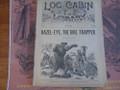 1890 LOG CABIN LIBRARY # 75  NED BUNTLINE  STORY PAPER DIME NOVEL
