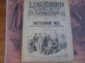 1890 LOG CABIN LIBRARY # 82 RATTLESNAKE NED STORY PAPER DIME NOVEL