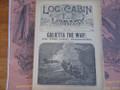 1890 LOG CABIN LIBRARY # 86 NED BUNTLINE PIRATE STORY PAPER DIME NOVEL