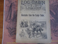 1891 LOG CABIN LIBRARY #119 NED BUNTLINE EXTREMELY SCARCE STORY PAPER DIME NOVEL