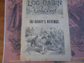 1891 LOG CABIN LIBRARY #118  OLL COOMES SCARCE STORY PAPER DIME NOVEL